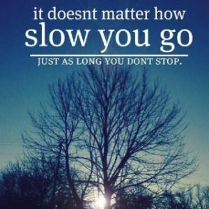 how slow